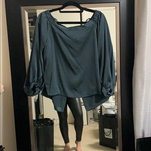 BCBG Max Azria Off the shoulder blouse